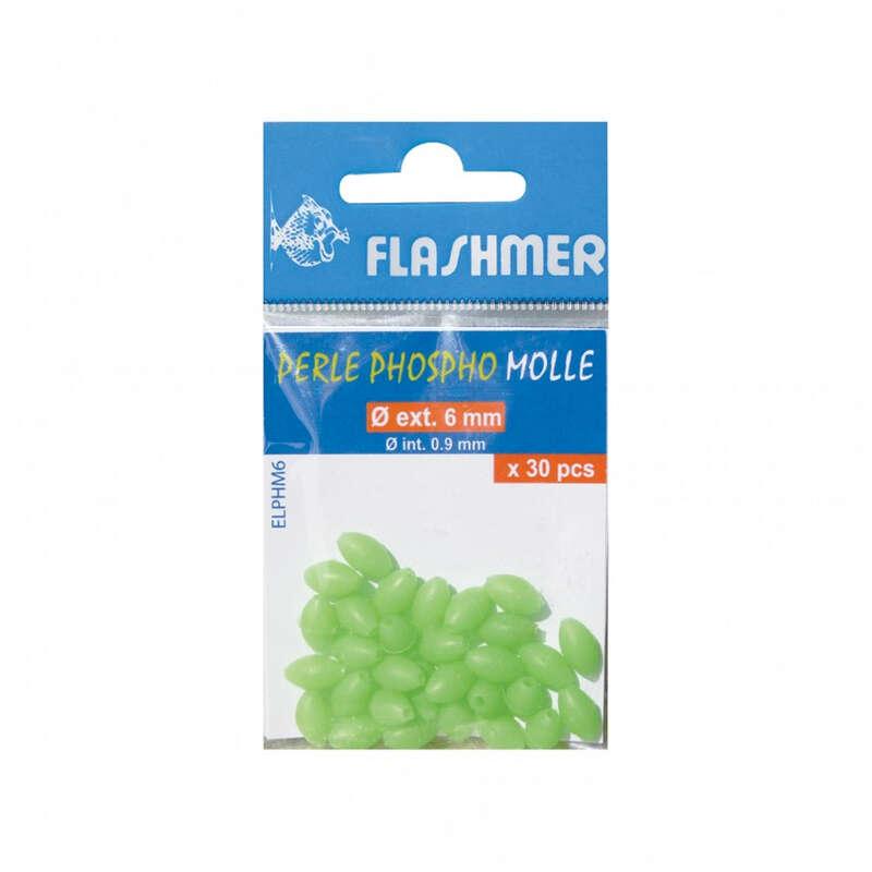 DODATNA OPREMA ZA SISTEME ZA SURFCASTING - Fosforescentne perle 5 mm x 20 FLASHMER