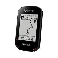 Fietscomputer met gps Bryton Rider 420