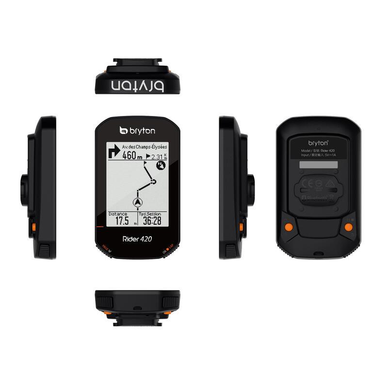 COMPTEUR VELO GPS BRYTON RIDER 420
