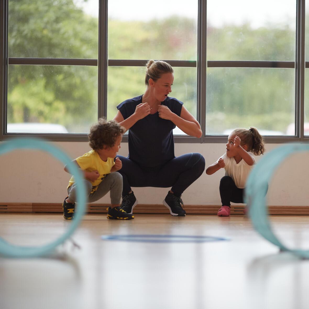 Baby gym - faire du sport en famille