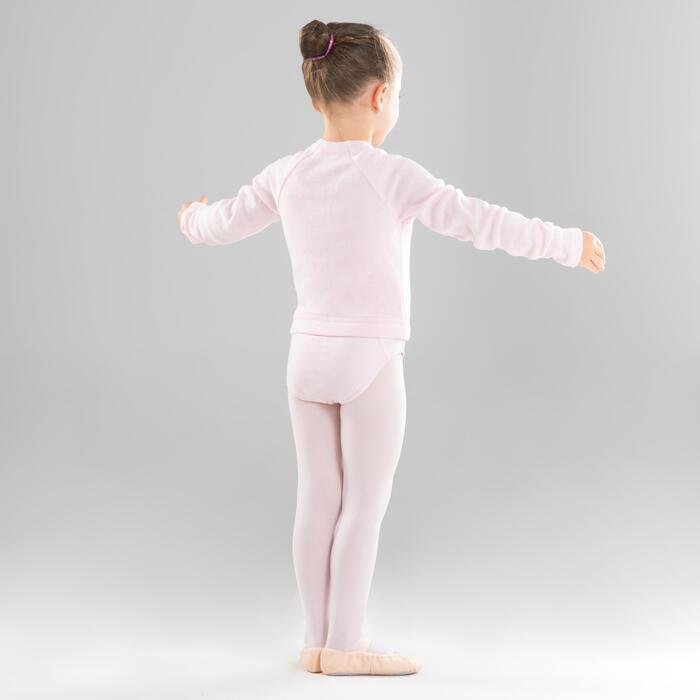 Girls' Ballet Wrap-Over Top - Pink