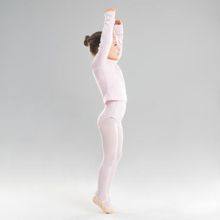 Ballet Wrap-Over Top Pink - Girls