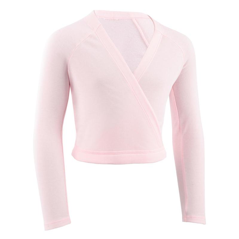 Ballet Wrap-Over Top Pink - Girls