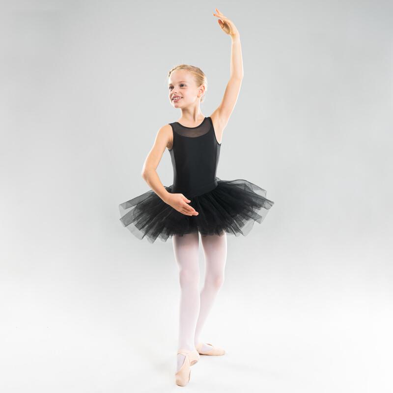 Tutu Ballet Domyos Niña Negro