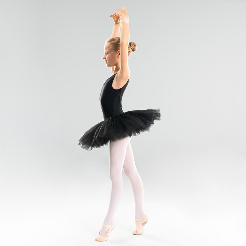 Girls' Ballet Pancake Tutu - Black
