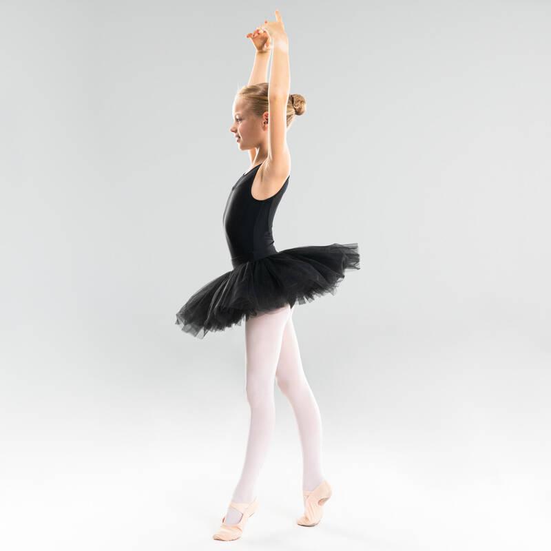 DÍVČÍ TRIKOTY, OBLEČENÍ NA BALET Balet - BALETNÍ TUTU SUKNĚ ČERNÁ STAREVER - Balet