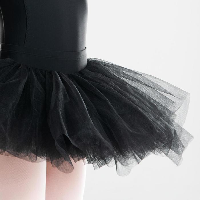 Tutu de Gala de Dança Clássica Preto Menina