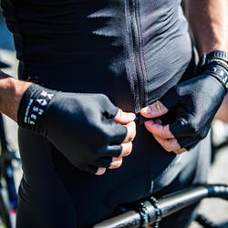 Road Cycling Jersey Racer - Black