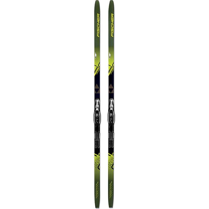 Ski's met vellen voor klassiek langlaufen TWIN SKIN CRUISER Turnamic-binding