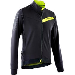 Mountainbikejas XC slim fit zwart/geel
