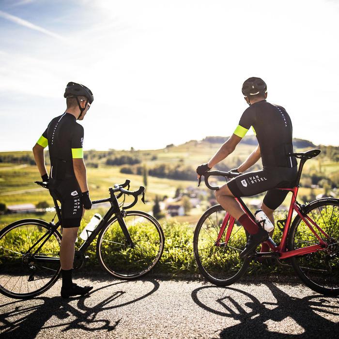 Fietspak voor wielrennen Racer Team geel