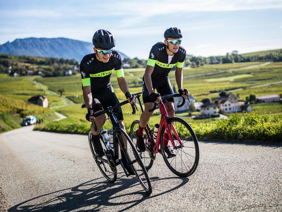 ascension à vélo protection solaire