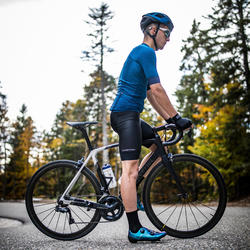Cuissard Vélo Route VAN RYSEL Racer Noir