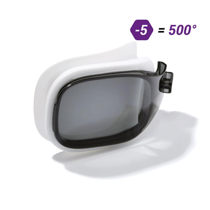 Cristal Gafas Natación Nabaiji 500 5 Antivaho Talla S