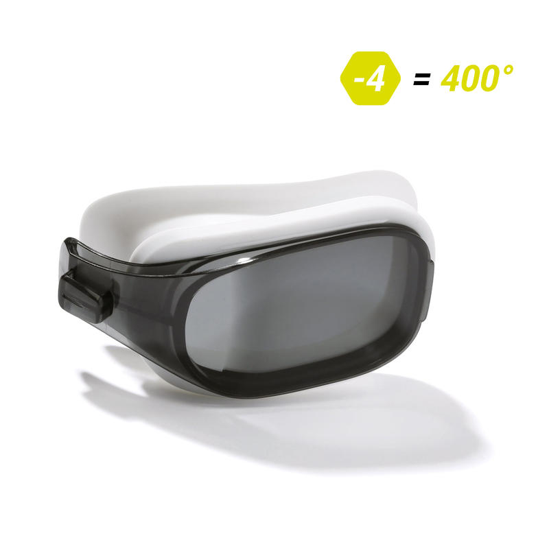 LENS -4 FOR SWIMMING GOGGLES 500 SELFIT SIZE L SMOKE
