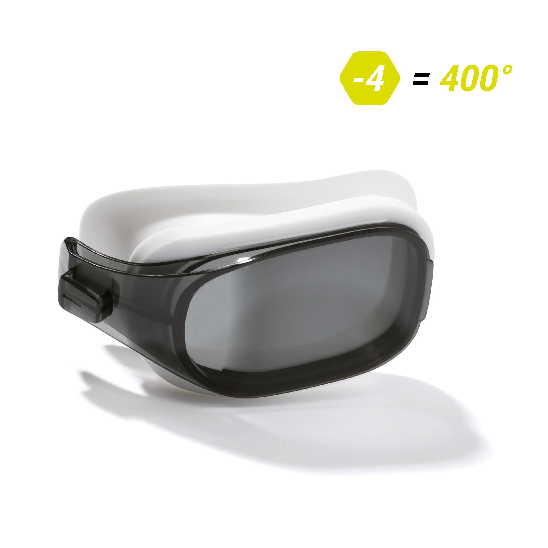 Getint glas voor zwembril op sterkte selfit maat l -4.00