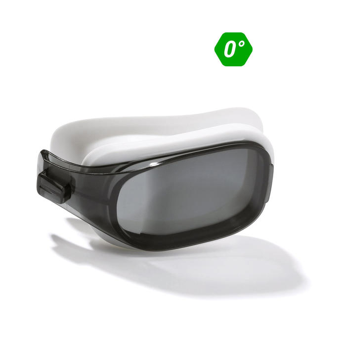 LENS 0 FOR SWIMMING GOGGLES 500 SELFIT SIZE S SMOKE
