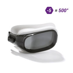 LENS -5 FOR SWIMMING GOGGLES 500 SELFIT SIZE L SMOKE