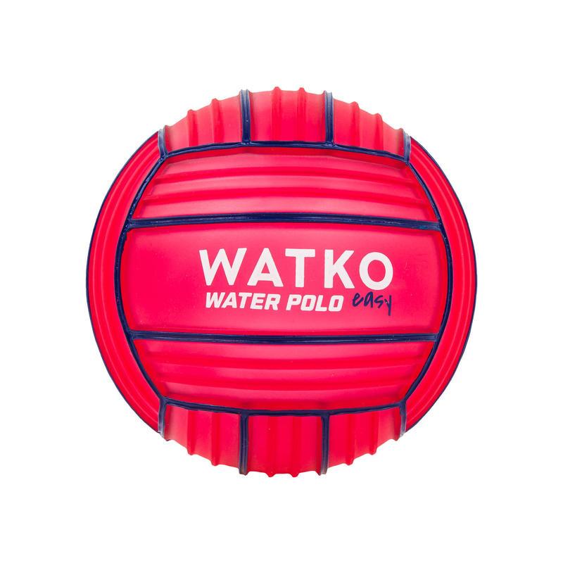Pallone pallanuoto 100 grip MINI rosso
