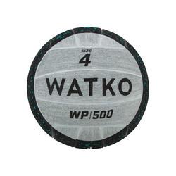 BOLA POLO AQUÁTICO WP500 LASTRO 800G TAMANHO 4