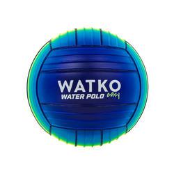 Large Pool Ball 20cm diameter - Blue yellow