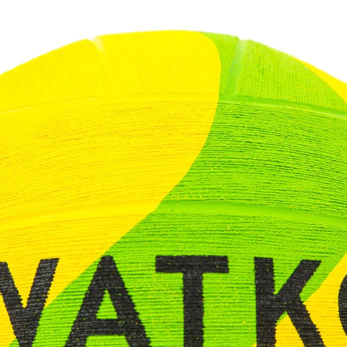 BALLON WATER POLO WP500 TAILLE 3 OFFICIEL JAUNE VERT