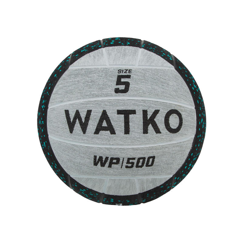 WEIGHTED WATER POLO BALL WP500 1KG SIZE 5