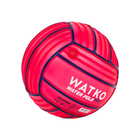 Balón Pequeño Piscina Adherente Rojo