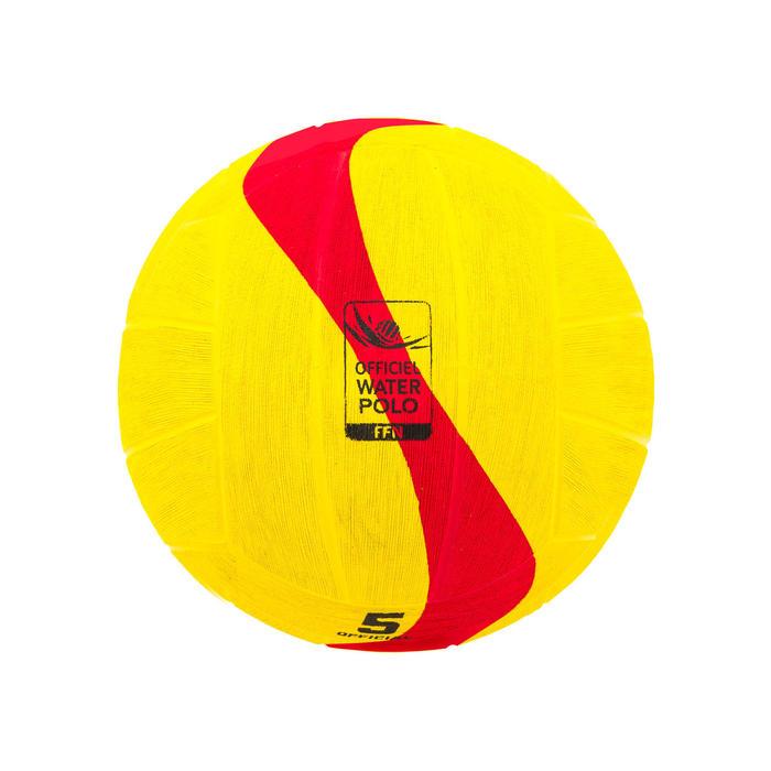 Waterpolobal WP500 maat 5 geel/rood