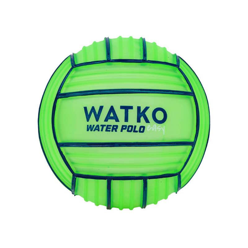 ВОДНОЕ ПОЛО Водное поло - МИНИ-МЯЧ ЗЕЛЕНЫЙ GRIP 100 WATKO - Спорт от А до Я