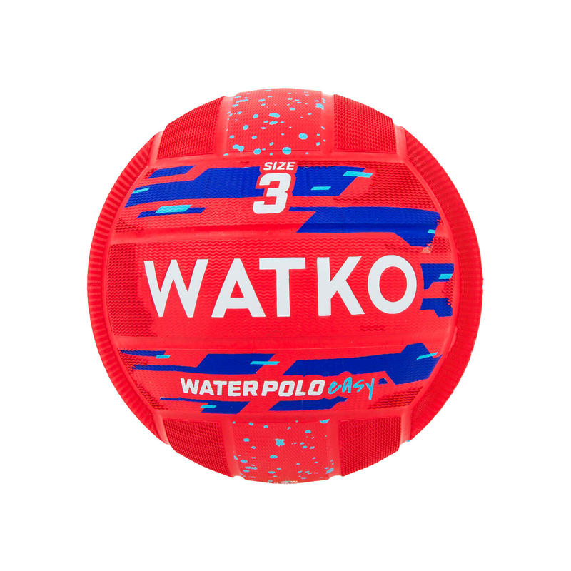 Water Polo Easy Polo Ball Size 3 - Red