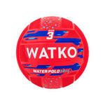 Watko Waterpolobal Easy rood maat 3