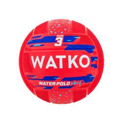 Waterpolobal Easy rood maat 3