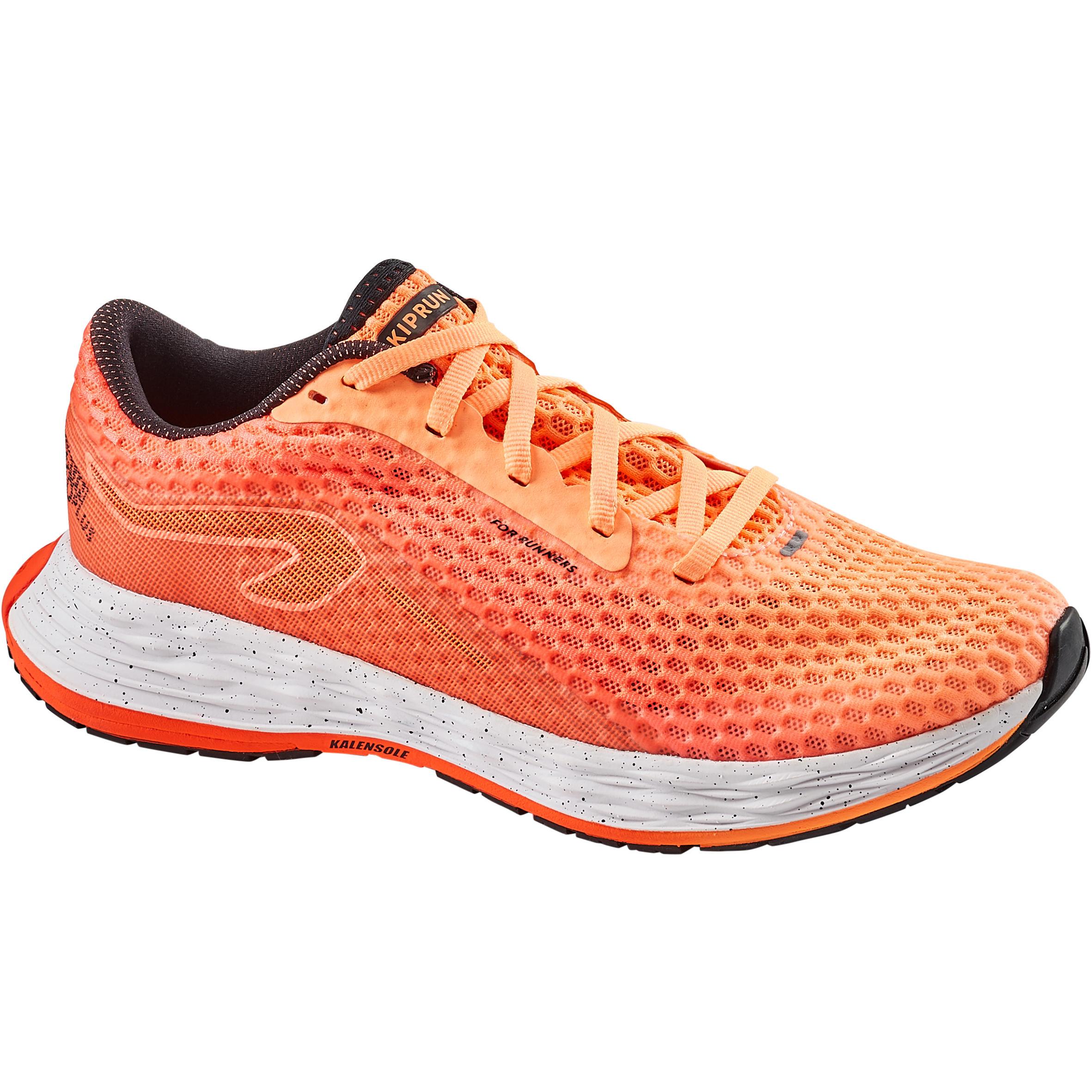 Chaussure de running femme kiprun kd plus corail kalenji