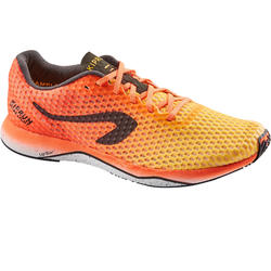 KIPRUN ULTRALIGHT MEN'S RUNNING SHOES RED ORANGE