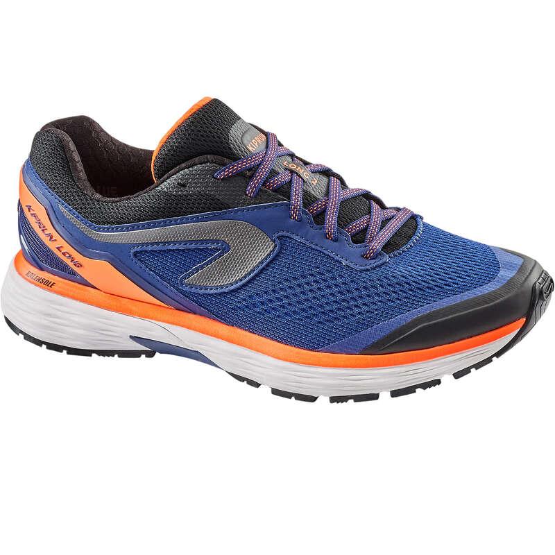 MAN ROAD RUNNING SHOES Running - KIPRUN LONG 2 MEN'S RUN SHOES KIPRUN - Running Footwear