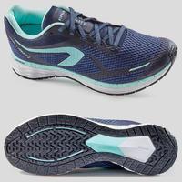 WOMEN'S RUNNING SHOES KIPRUN FAST - BLUE/GREEN