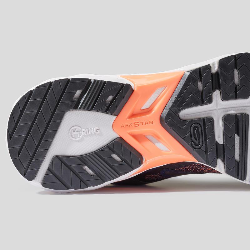 รองเท้าวิ่งสำหรับผู้หญิงรุ่น KIPRUN LONG 2 (สีน้ำเงิน/CORAL)