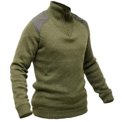 PULL CHASSE LAINE COUPE VENT VERT 900
