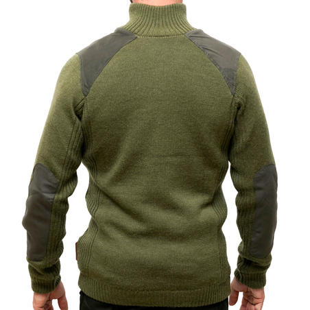 Windproof Wool hunting pullover 900