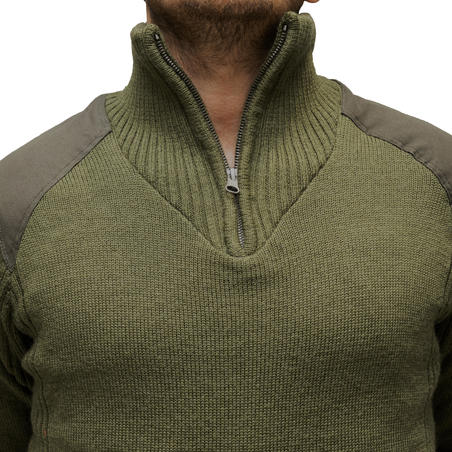 Hunting Windproof Wool Pullover 900