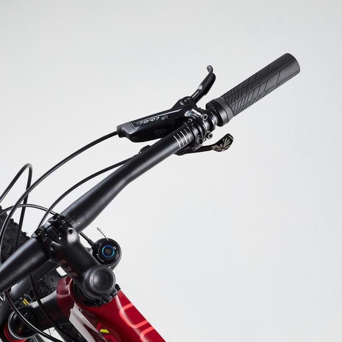 "Vélo VTT XC 900 29"" CARBONE rouge et jaune"