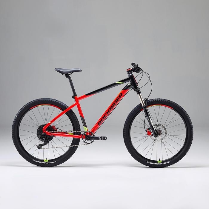 Mountainbike ST900 27,5 Zoll rot/schwarz