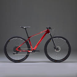 """Mountainbike XC 900 29"""" CARBON rood/geel"""
