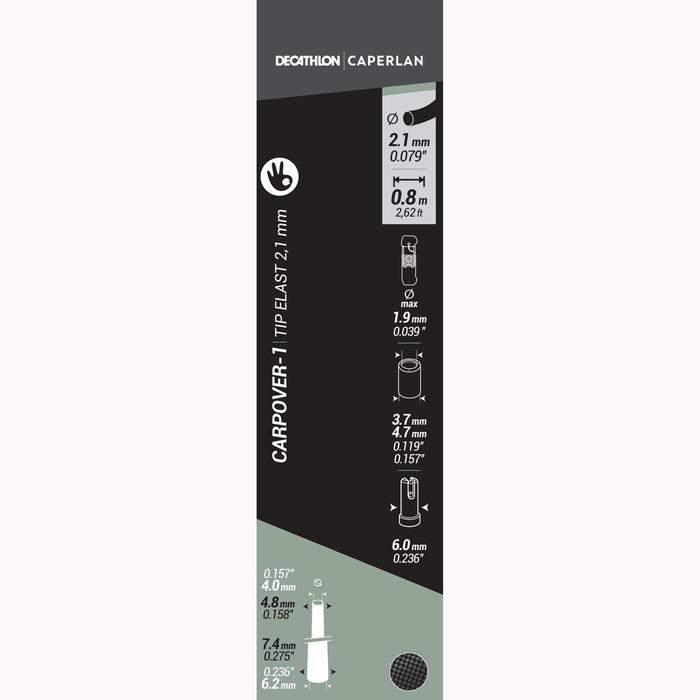 TOPEINDE CARPOVER-1 TIP ELASTIEK 2.1 MM