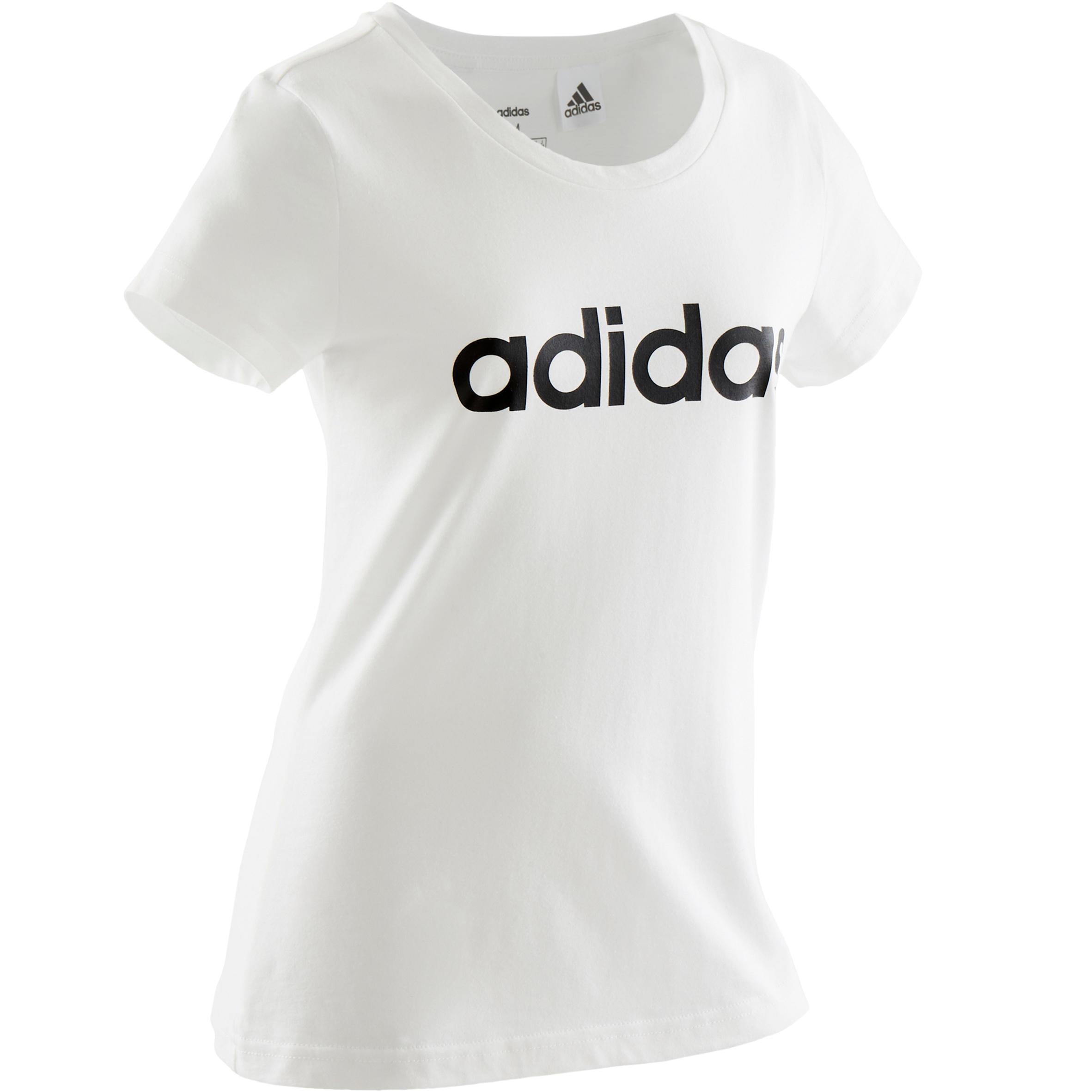 Tricou Adidas alb fete