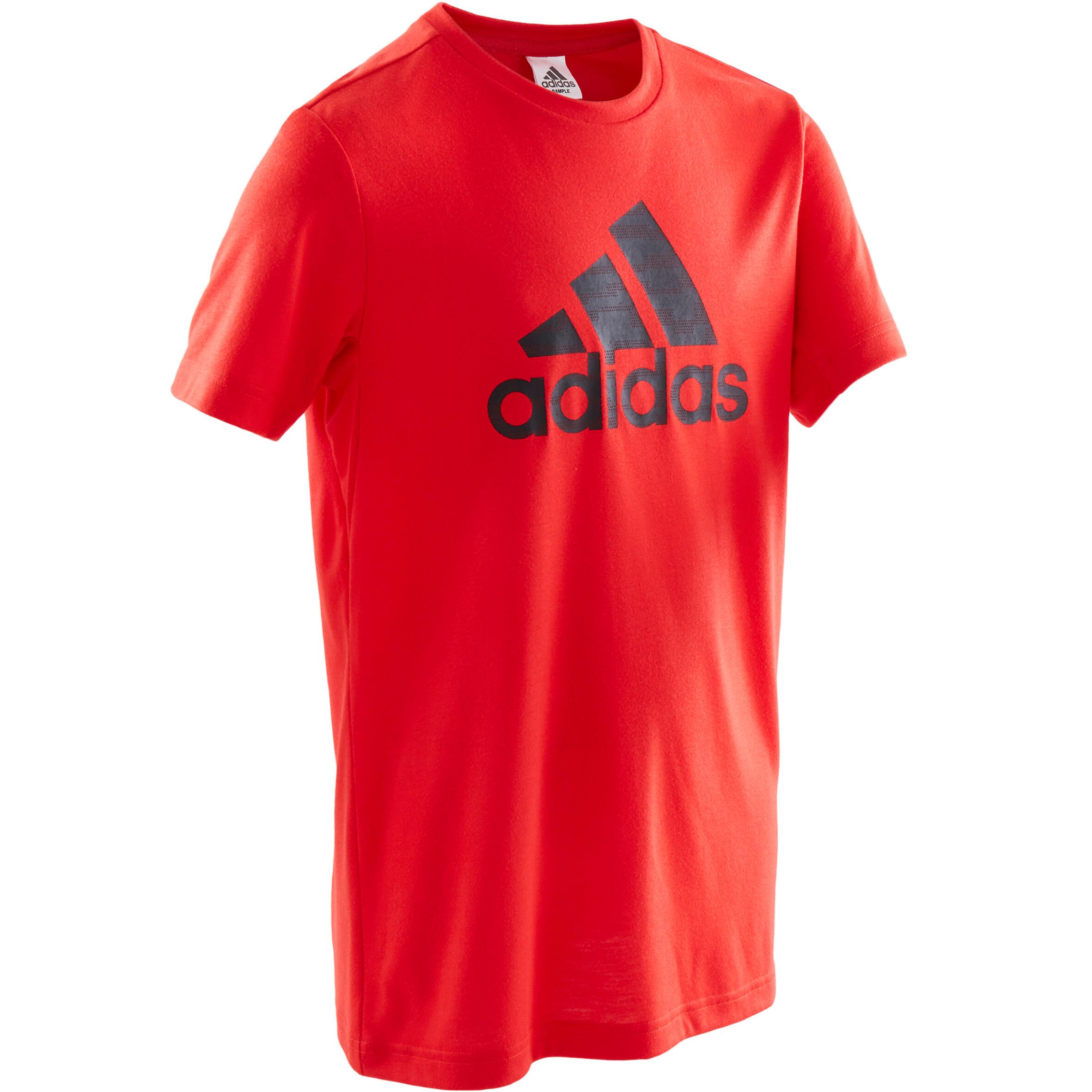 Tricou adidas roșu băieți