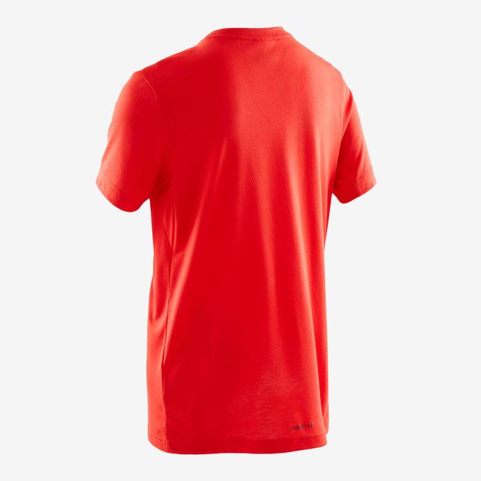 Camiseta niño rojo adidas