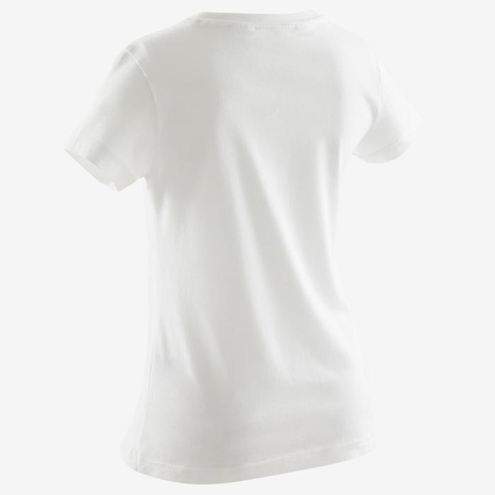 cinturón quemado cuidadosamente  Camiseta manga corta niña adidas blanco negro ADIDAS | Decathlon