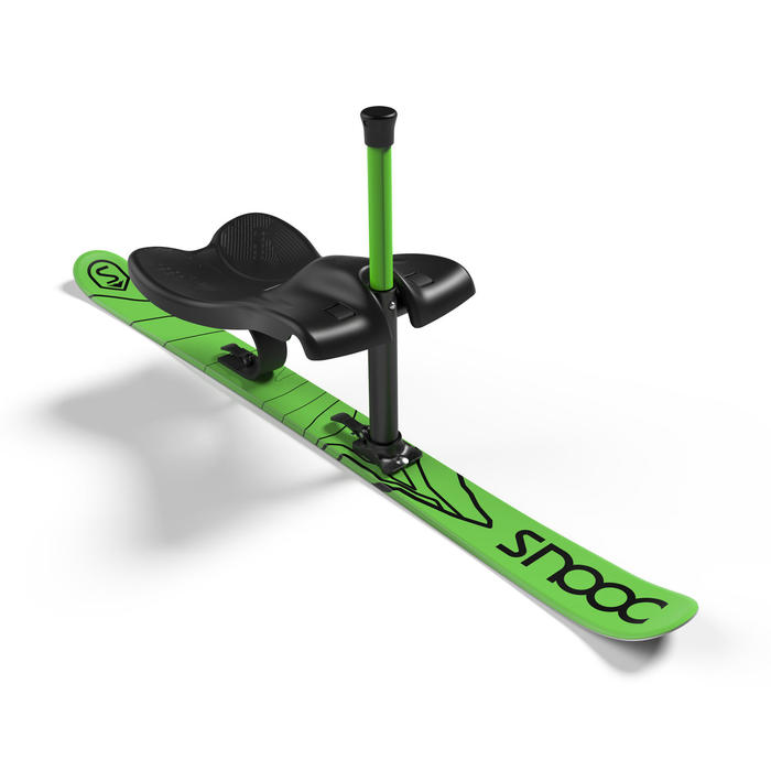 Slee met één skilat SNOOC Downhill